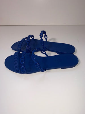 Brand New Hermes Thalassa Jelly Sandals 39