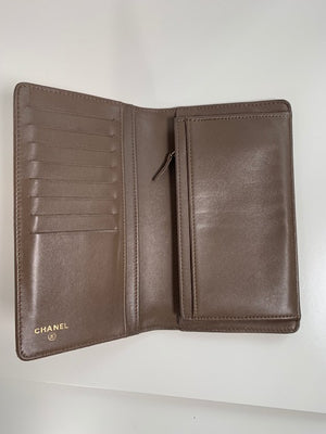 Chanel Bi-Fold Long Wallet