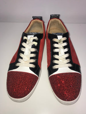 Christian Louboutin Strass Sneakers 42