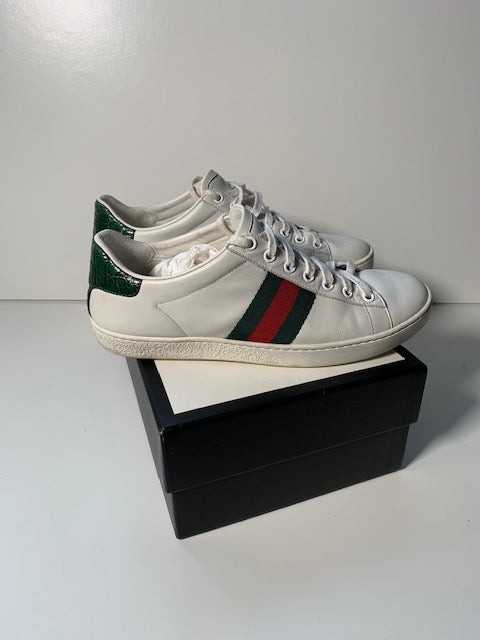 Gucci Ace Sneakers 38 (Runs Large)
