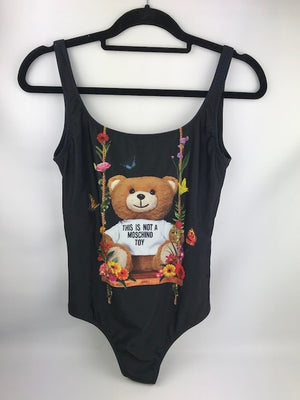 Brand New Moschino Couture Teddy Swimsuit Size 10