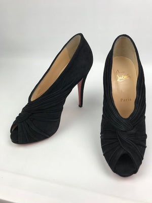 Brand New Christian Louboutin Manchon Suede Booties 39