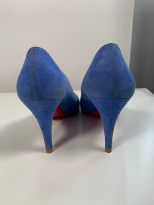 Christian Louboutin Ron Ron Suede Pumps 38.5