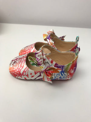 Brand New Sold Out Christian Louboutin Baby Shoes Wallgraf Multi 18