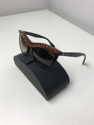 Brand New Prada Swarovski Crystal Sunglasses