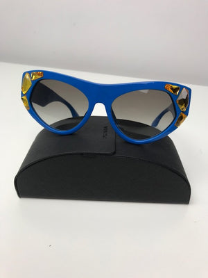 Brand New Prada Swarovski Crystal Cats Eye Sunglasses