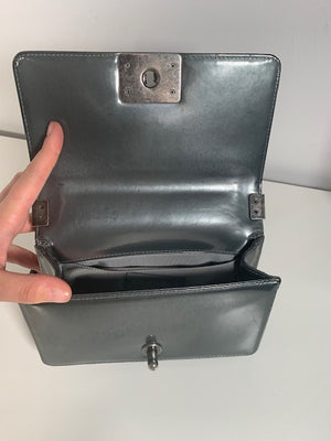 Chanel Small Patent Boy Bag