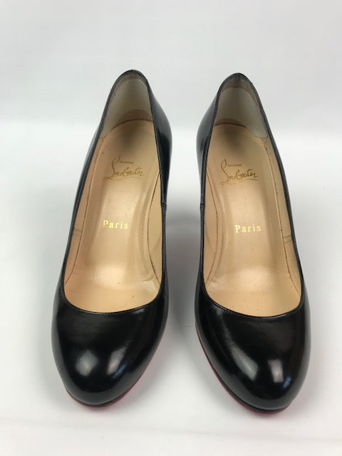 0a2a8c8eb4 Christian Louboutin Simple Pump Black 37 - Love Luxe