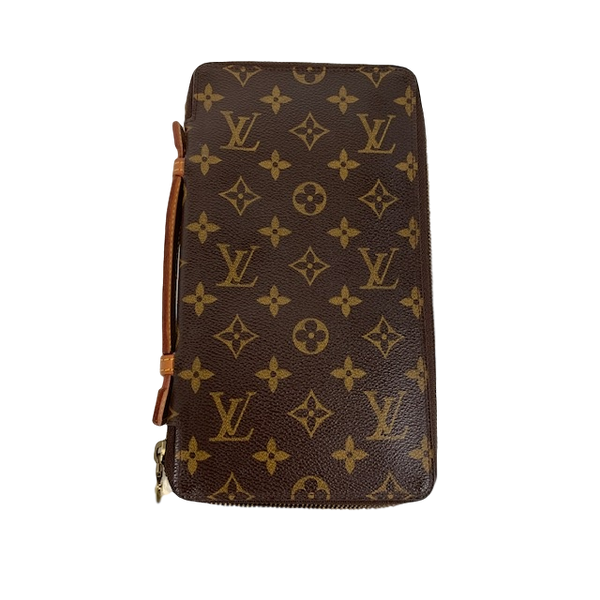 Louis Vuitton Zippy Organiser Wallet Monogram Canvas