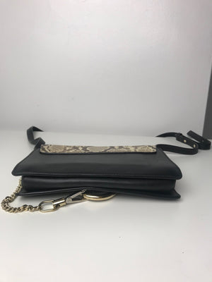 Chloe Faye Crossbody Python & Leather
