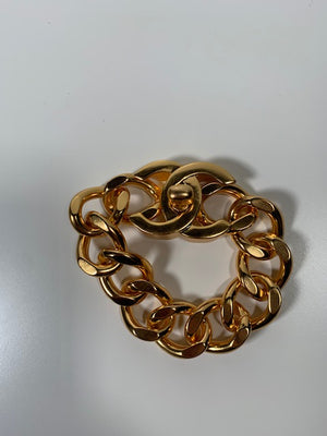 Chanel Vintage Turnlock Bracelet