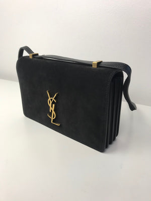 Brand New Yves Saint Laurent Suede Shoulder Bag