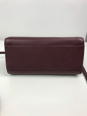 Fendi Peekaboo Mini Oxblood