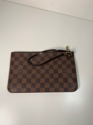 Louis Vuitton Neverfull Pouch Damier Ebene Canvas