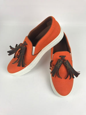 Louis Vuitton Destination Sneaker Orange 38.5