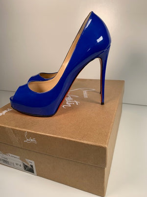 Christian Louboutin New Very Prive Electric Blue 37.5