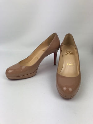 Christian Louboutin Nude New Simple Pump 36