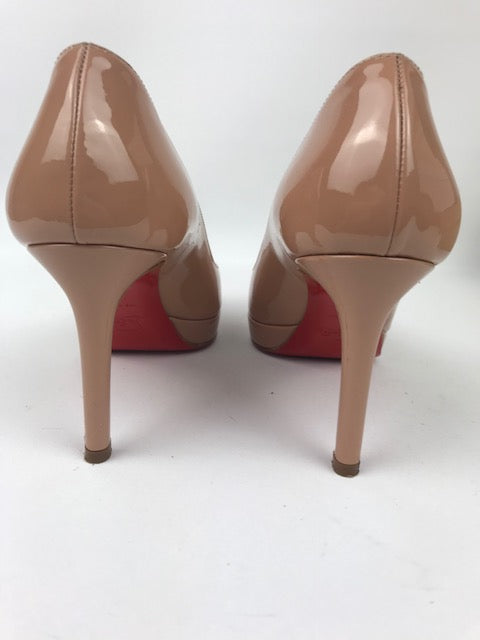 38b6ee253920 Christian Louboutin Nude New Simple Pump 36 - Love Luxe