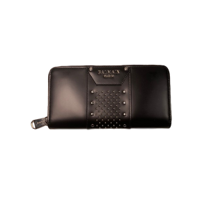 Brand New Balmain Long Wallet Black