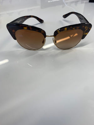 Dolce And Gabbana Tortoiseshell Sunglasses