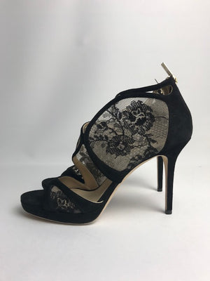 Jimmy Choo Flyte Black Lace 39