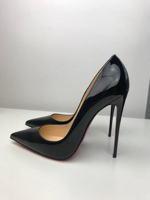 Brand New Christian Louboutin So Kate Black Patent 34
