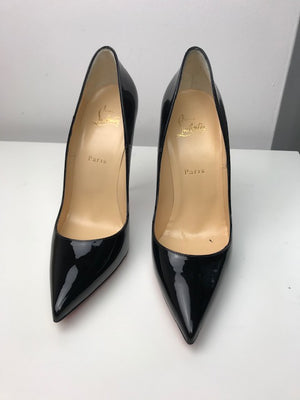Brand New Christian Louboutin So Kate Black Patent 40.5