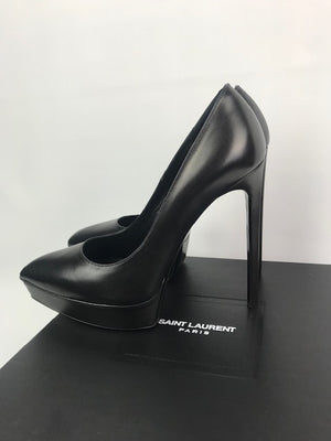 Saint Laurent Janis Black Pumps 38.5