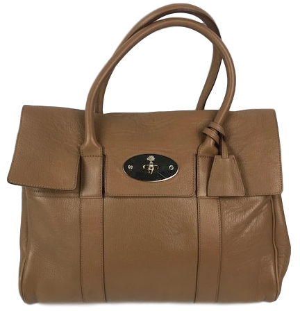 Mulberry Baywater Handbag Oak Gold Hardware