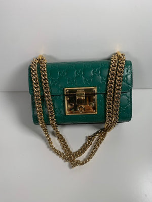 Gucci Signature Padlock Small Shoulder Bag
