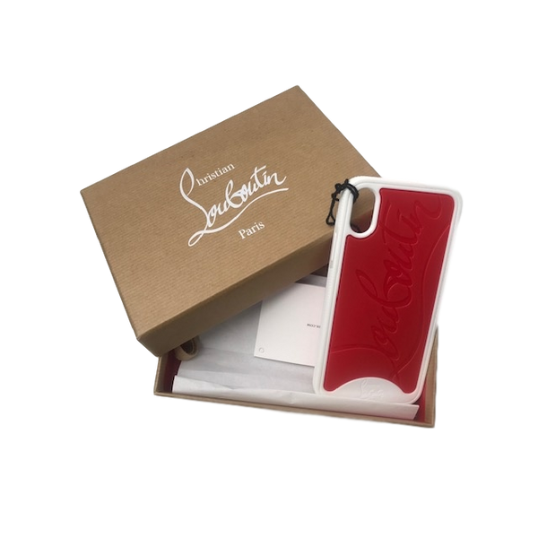 Brand New Christian Louboutin IPHONE X Case