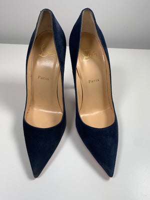 Brand New Christian Louboutin So Kate Night Suede 38