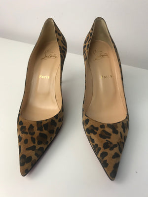 Brand New Christian Louboutin Clare Veau Velours Rio 40.5