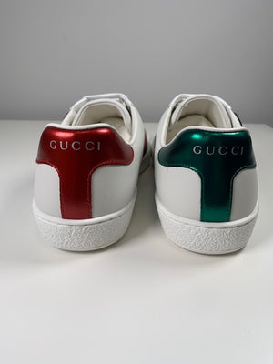Brand New Gucci Cat & Dog Ace Sneakers  39 (Large)