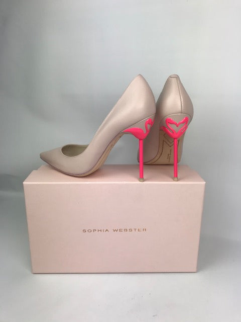 Brand New Sophia Webster Coco Flamingo Pink 39.5