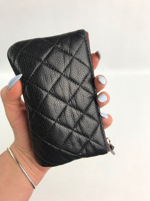 Chanel Classic Small Pouch Caviar Leather