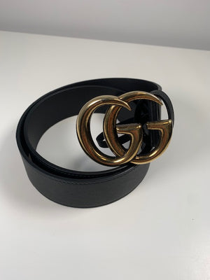 Brand New Gucci Marmont 4cm Wide Belt Size 105