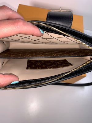 Brand New Current Season Louis Vuitton Trunk Clutch Monogram