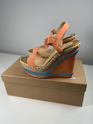Brand New Christian Louboutin Wedges 38