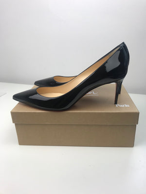 Brand New Decollete 554 Black Patent 40.5