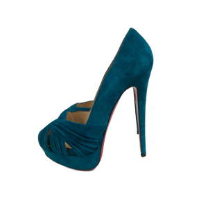 Brand New Christian Louboutin Jenny Suede 38.5