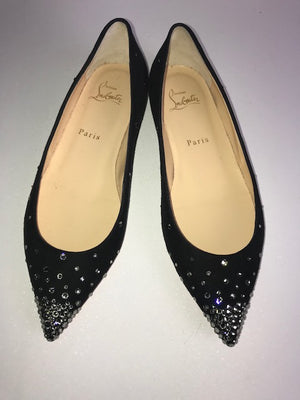 Brand New Christian Louboutin Degrastrass Flats 38