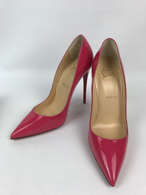 Brand New Christian Louboutin So Kate Bon Bon Patent 38