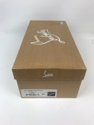 Brand New Christian Louboutin Cata Spike Espadrilles 39