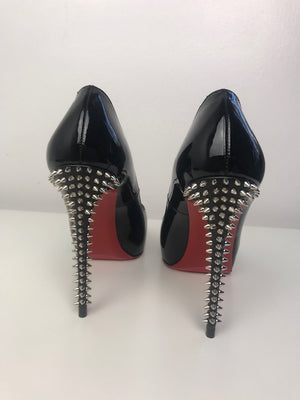 Christian Louboutin New Very Prive Patent Spikes 36.5