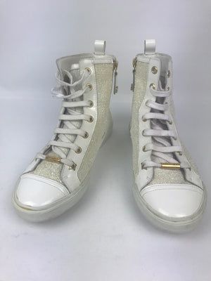 Jimmy Choo Destin White Sneakers 37