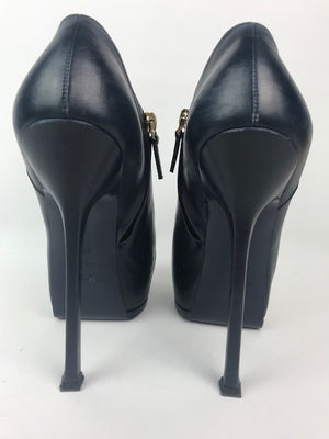 Yves Saint Laurent Booties Navy 39.5