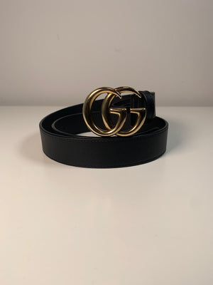Brand New Gucci Marmont 3cm Belt Size 85
