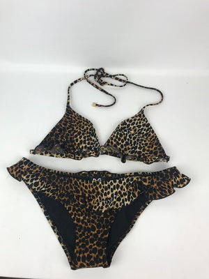 Dolce and Gabbana Leopard Bikini Small