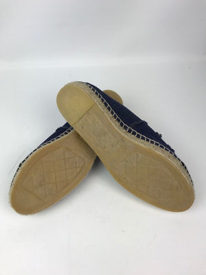 Chanel Denim Espadrilles 40